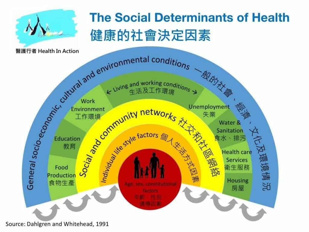 健康社會的決定因素