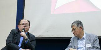 張寬耀醫生於座談會上分享他對癌症醫療開支的見解
