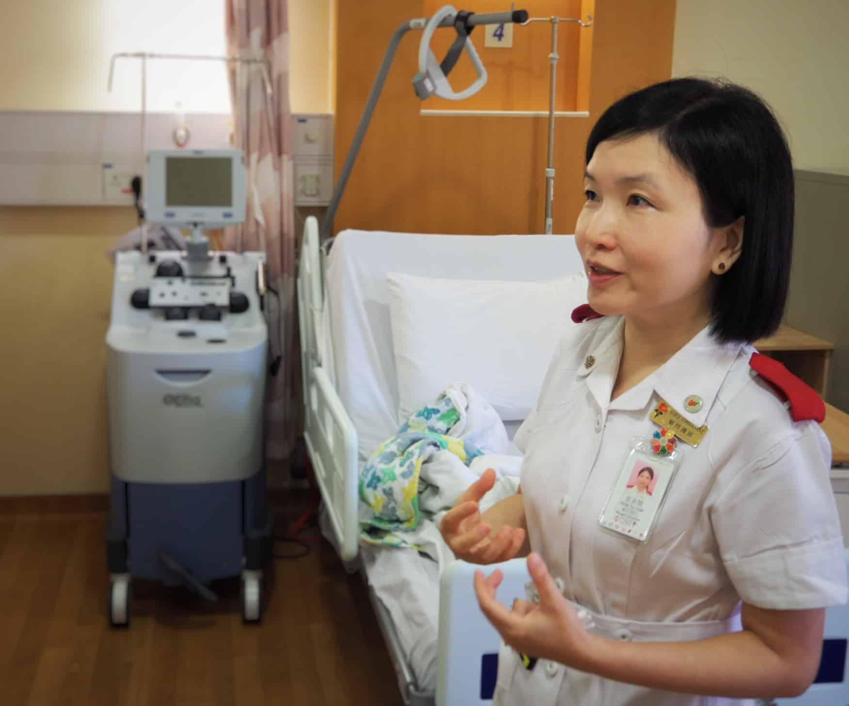 麥姑娘講述威院腫瘤科發展自體血幹細胞移植及血液分離術的由來