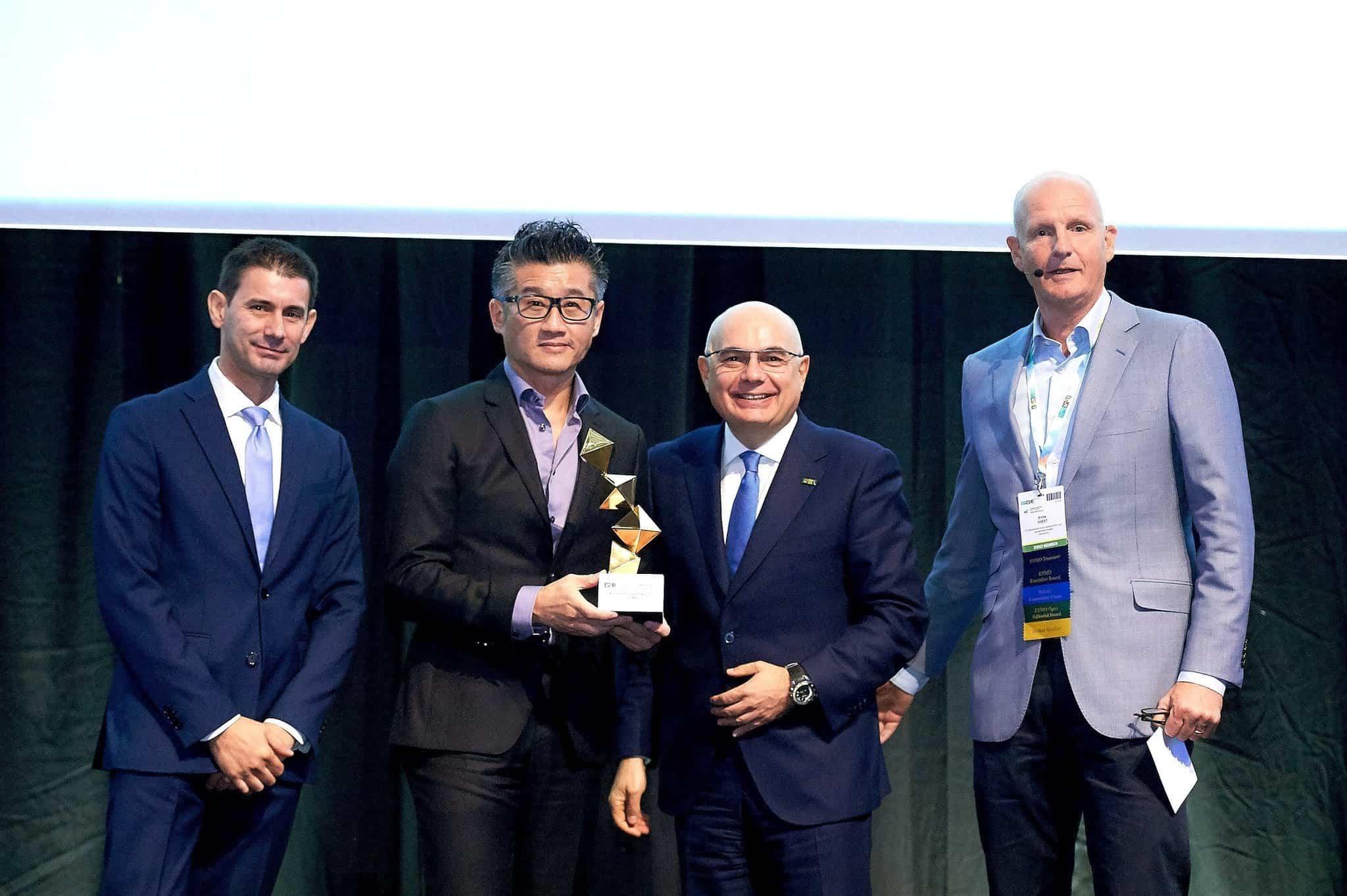 莫樹錦教授獲歐洲腫瘤學會頒發終身成就獎