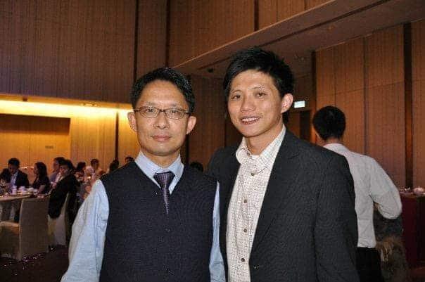 韓方光醫生和謝德新醫生