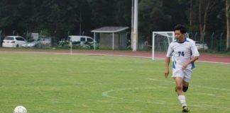 韓方光醫生參加足球比賽