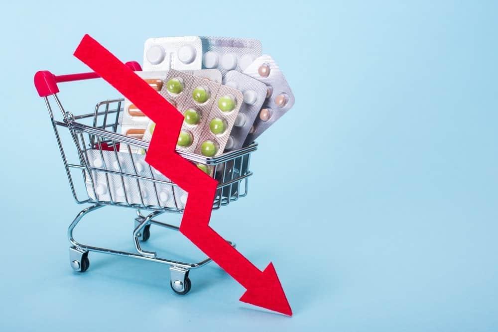 内地藥物價格下降